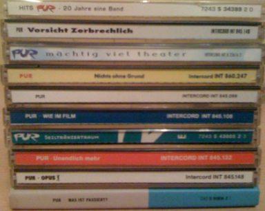 """Die """"PUR""""-CD-Sammlung"""