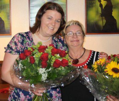 Mit meiner Vorgängerin Helga Grimmer