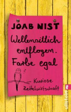 """""""Wellensittich enflogen. Farbe egal"""" von Joab Nist"""